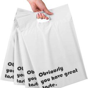 White Poly Mailer Bag